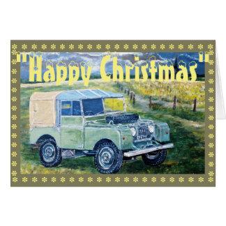 """FREYA"" The Series One Truck Cab Christmas Card"