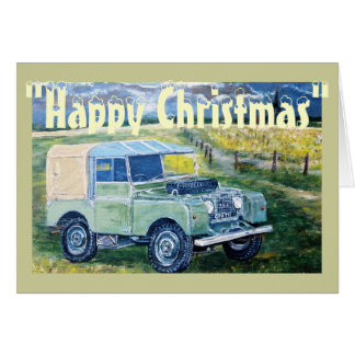 """FREYA"" The Series One Truck Cab Christmas Card"