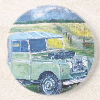 """FREYA"" The Truck Cab Design Coaster"