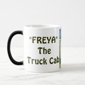 """FREYA"" The Truck Cab Morphing Mug"