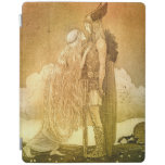 Freyja and Svipdag by John Bauer 1911