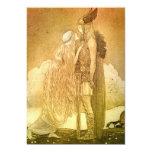 Freyja and Svipdag by John Bauer 1911 13 Cm X 18 Cm Invitation Card