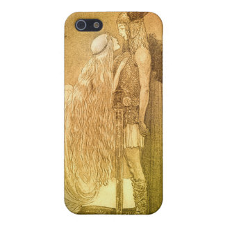 Freyja and Svipdag by John Bauer 1911 iPhone 5/5S Cover
