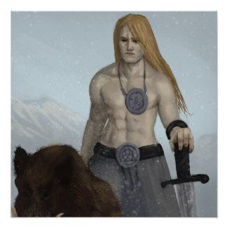 Freyr Poster
