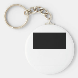 Fribourg Flag Key Ring