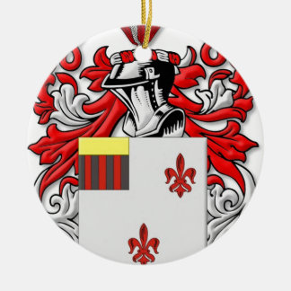 Fricke Coat of Arms Round Ceramic Decoration