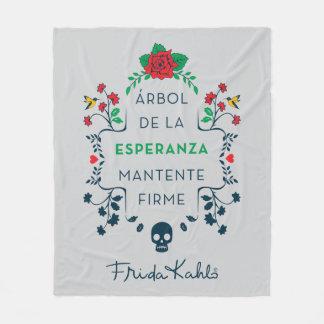 Frida Kahlo   Árbol De La Esperanza Fleece Blanket