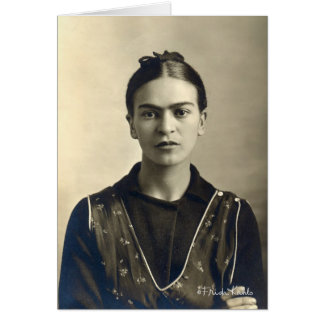 Frida Kahlo Arms Crossed Card