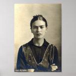 Frida Kahlo Arms Crossed Print