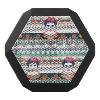 Frida Kahlo   Aztec Black Bluetooth Speaker
