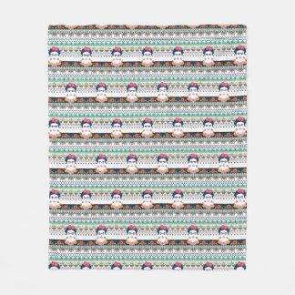 Frida Kahlo   Aztec Fleece Blanket