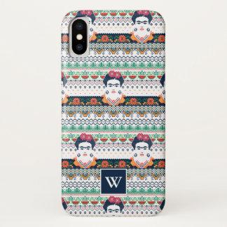 Frida Kahlo | Aztec iPhone X Case