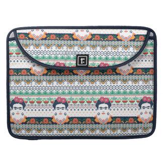 Frida Kahlo | Aztec Sleeve For MacBooks