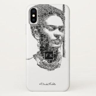 Frida Kahlo Black and White Portrait iPhone X Case