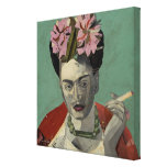 Frida Kahlo by Garcia Villegas Gallery Wrapped Canvas