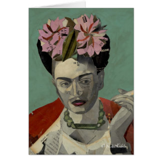 Frida Kahlo by Garcia Villegas Card