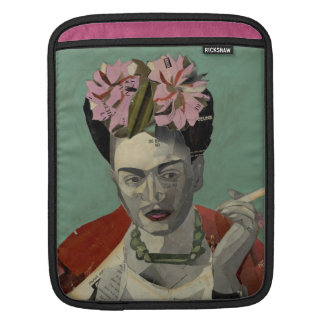 Frida Kahlo by Garcia Villegas iPad Sleeve