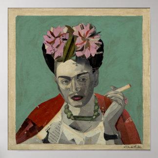Frida Kahlo by Garcia Villegas Posters