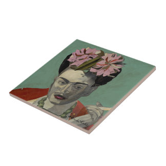 Frida Kahlo by Garcia Villegas Tile