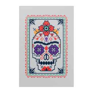 Frida Kahlo | Calavera Acrylic Print
