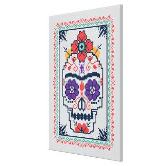 Frida Kahlo | Calavera Canvas Print