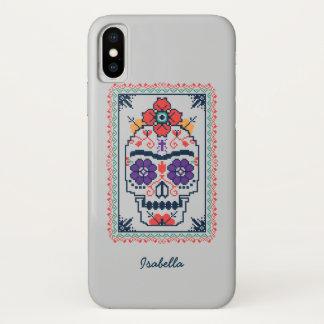 Frida Kahlo | Calavera iPhone X Case