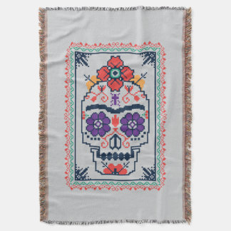 Frida Kahlo | Calavera Throw Blanket
