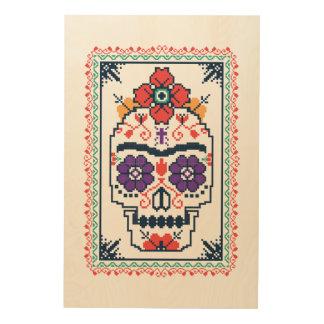 Frida Kahlo | Calavera Wood Print