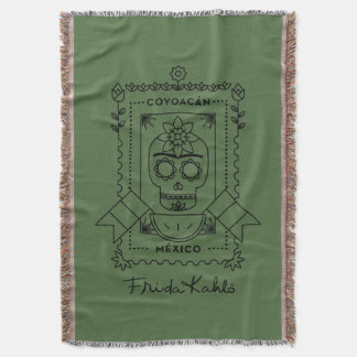 Frida Kahlo | Coyoacán Throw Blanket