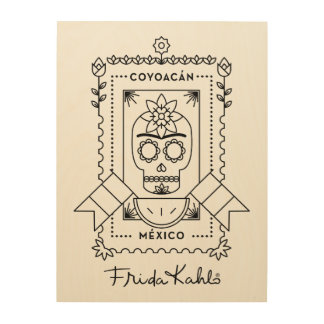 Frida Kahlo | Coyoacán Wood Wall Decor