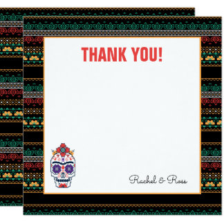 Frida Kahlo | Dia De Los Muertos - Thank You Card