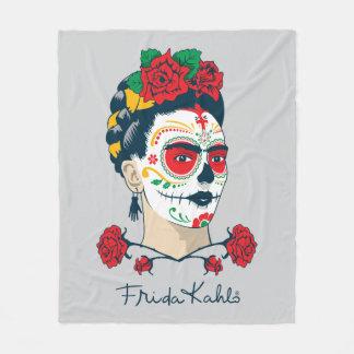 Frida Kahlo   El Día de los Muertos Fleece Blanket