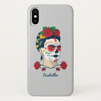 Frida Kahlo | El Día de los Muertos iPhone X Case