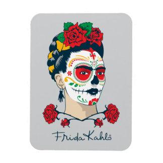 Frida Kahlo | El Día de los Muertos Magnet