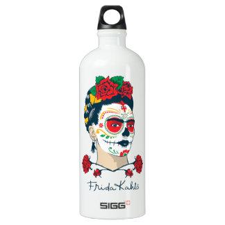 Frida Kahlo | El Día de los Muertos Water Bottle