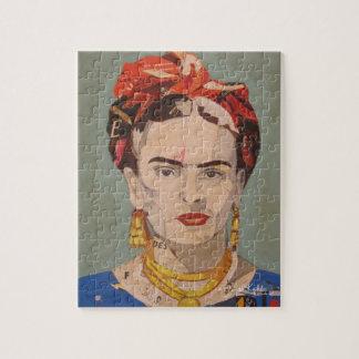 Frida Kahlo en Coyoacán Portrait Jigsaw Puzzle