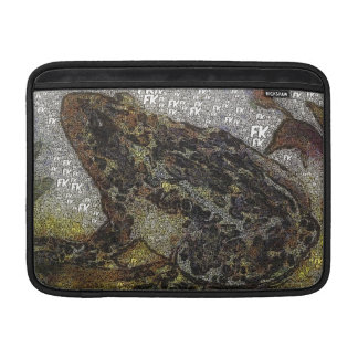 Frida Kahlo FK-Style Frog Painting Sleeve For MacBook Air