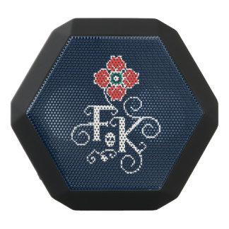 Frida Kahlo   Floral Tribute Black Bluetooth Speaker
