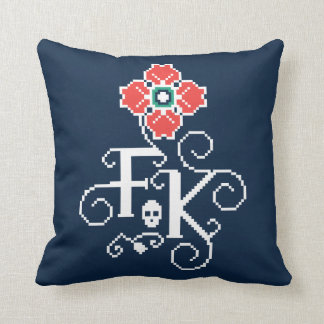 Frida Kahlo | Floral Tribute Cushion