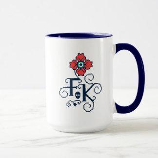 Frida Kahlo | Floral Tribute Mug