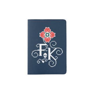 Frida Kahlo | Floral Tribute Passport Holder