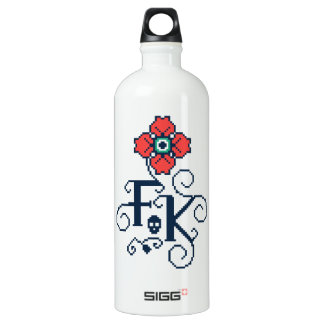Frida Kahlo | Floral Tribute Water Bottle