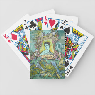 Frida Kahlo Graffiti Bicycle Playing Cards