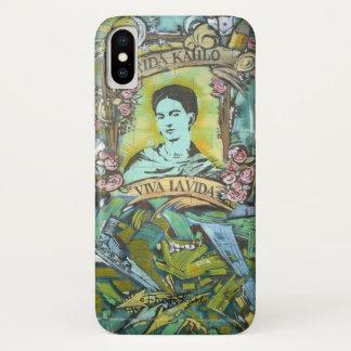 Frida Kahlo Graffiti iPhone X Case