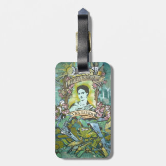 Frida Kahlo Graffiti Luggage Tag