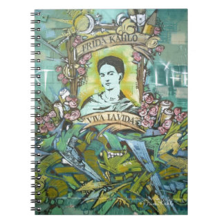 Frida Kahlo Graffiti Notebook