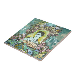 Frida Kahlo Graffiti Tile