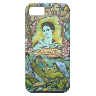 Frida Kahlo Graffiti Tough iPhone 5 Case