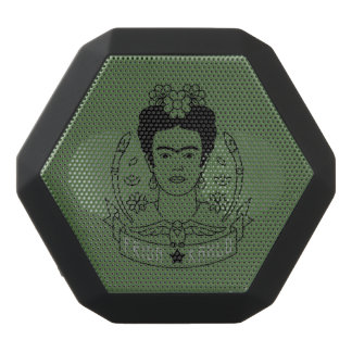 Frida Kahlo   Heroína Black Bluetooth Speaker