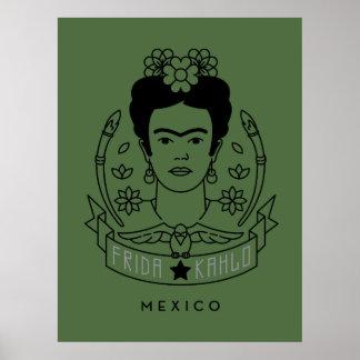 Frida Kahlo | Heroína Poster